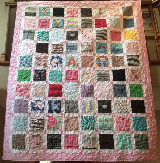 Baby Clothes Quilts Premium Deposit Only Quilted