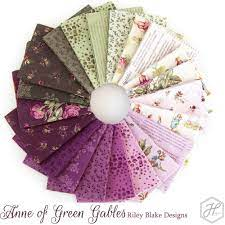 Anne of Green Gables 2-1/2 strips by Riley Blake Designs, 40pcs RP-10600-40