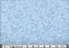 "108"" Widebacking: MDG Overtone Prints Lt Blue"