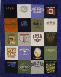 Basic T-shirt Quilt 20 block