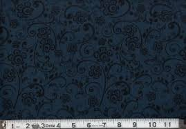 "108"" Widebacking: MDG Overtone Prints Navy"