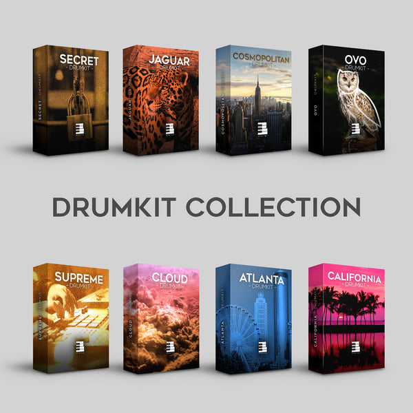 DRUMKIT COLLECTION (85,00€ OFFERTS)