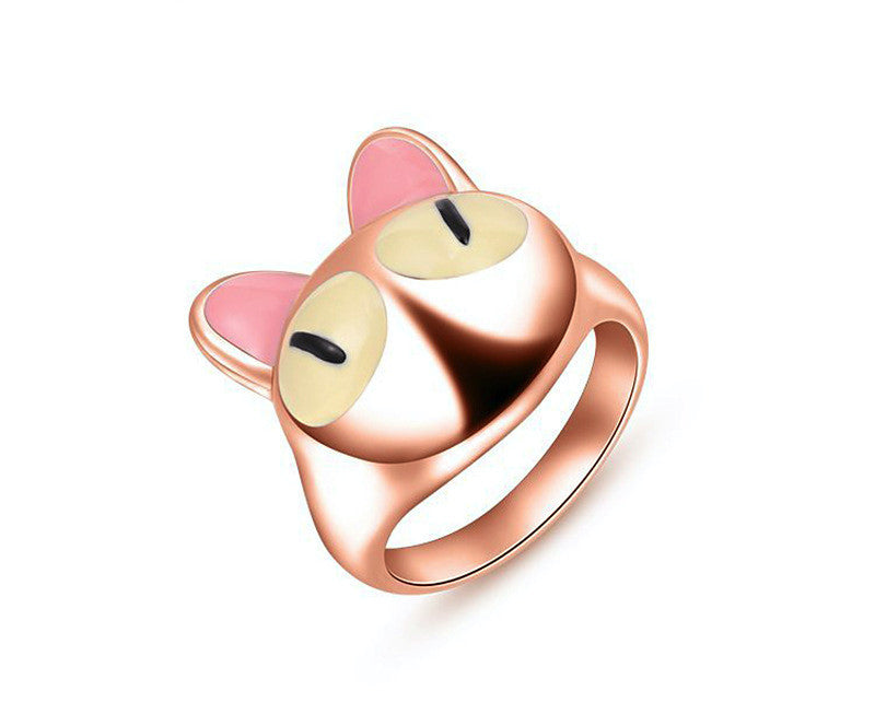 18K Rose Gold Plated Cassidy Ring