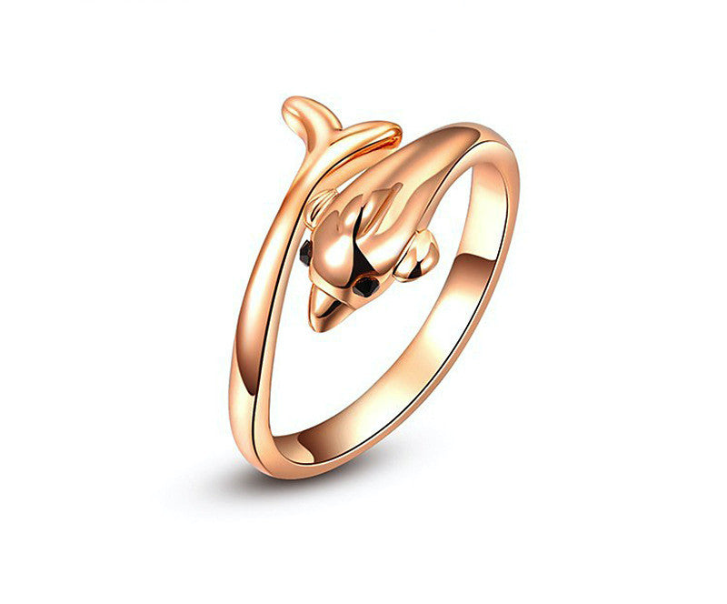 18K Rose Gold Plated Kylee Ring