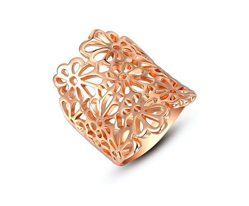 18K Rose Gold Plated Lola Ring