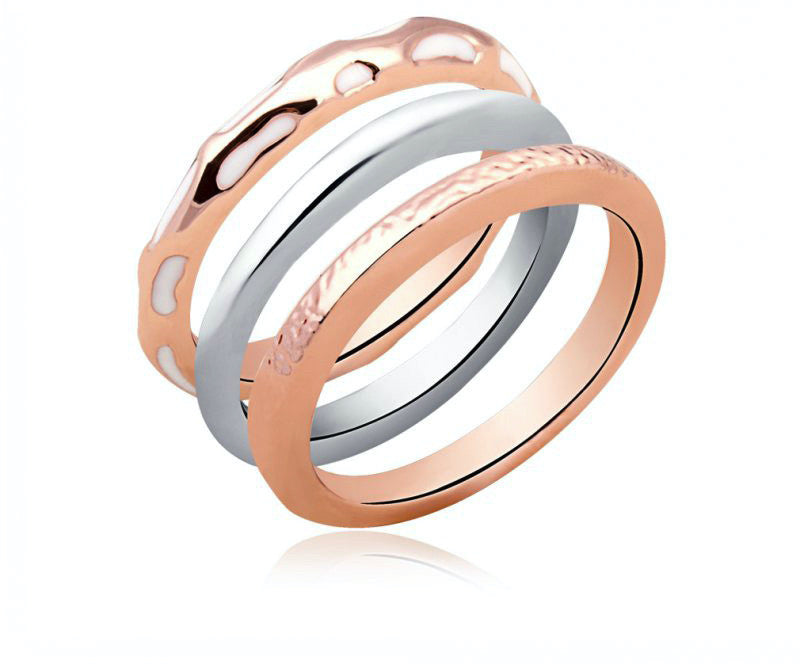18K Rose Gold Plated Rebekah Ring