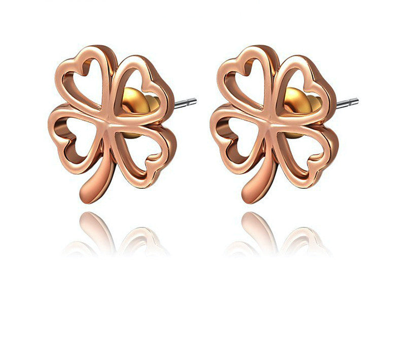 18K Rose Gold Plated Skylar Earrings