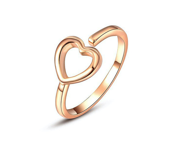 18K Rose Gold Plated Vera Ring