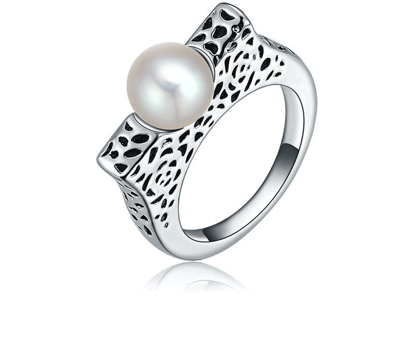 Platinum Plated Aleena Ring
