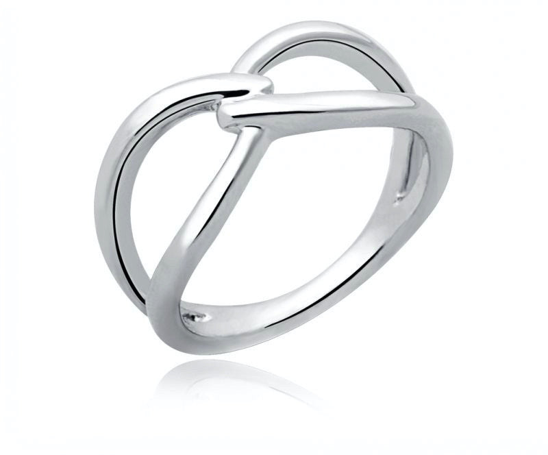 Platinum Plated Cadence Ring