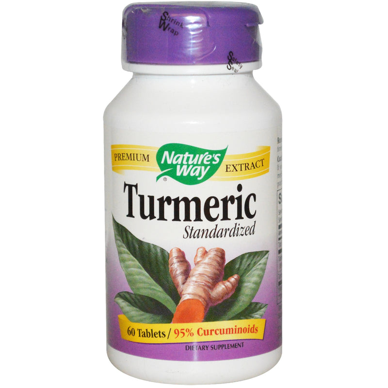 Nature's Way Standardized Turmeric - 60 Tablets