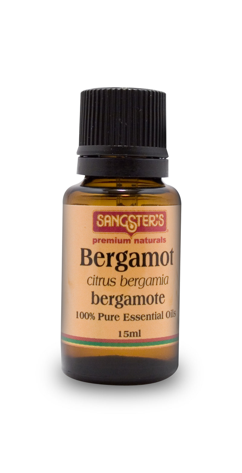Sangster's Bergamot 100% Pure Essential Oil 15ml