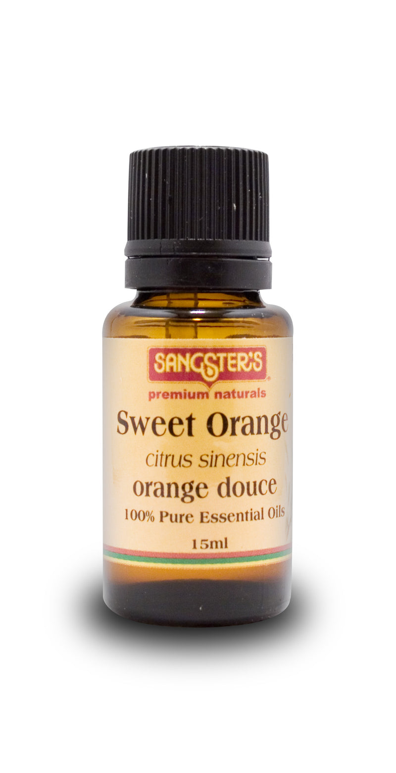 Sangster's Sweet Orange 100% Pure Essential Oil 15ml