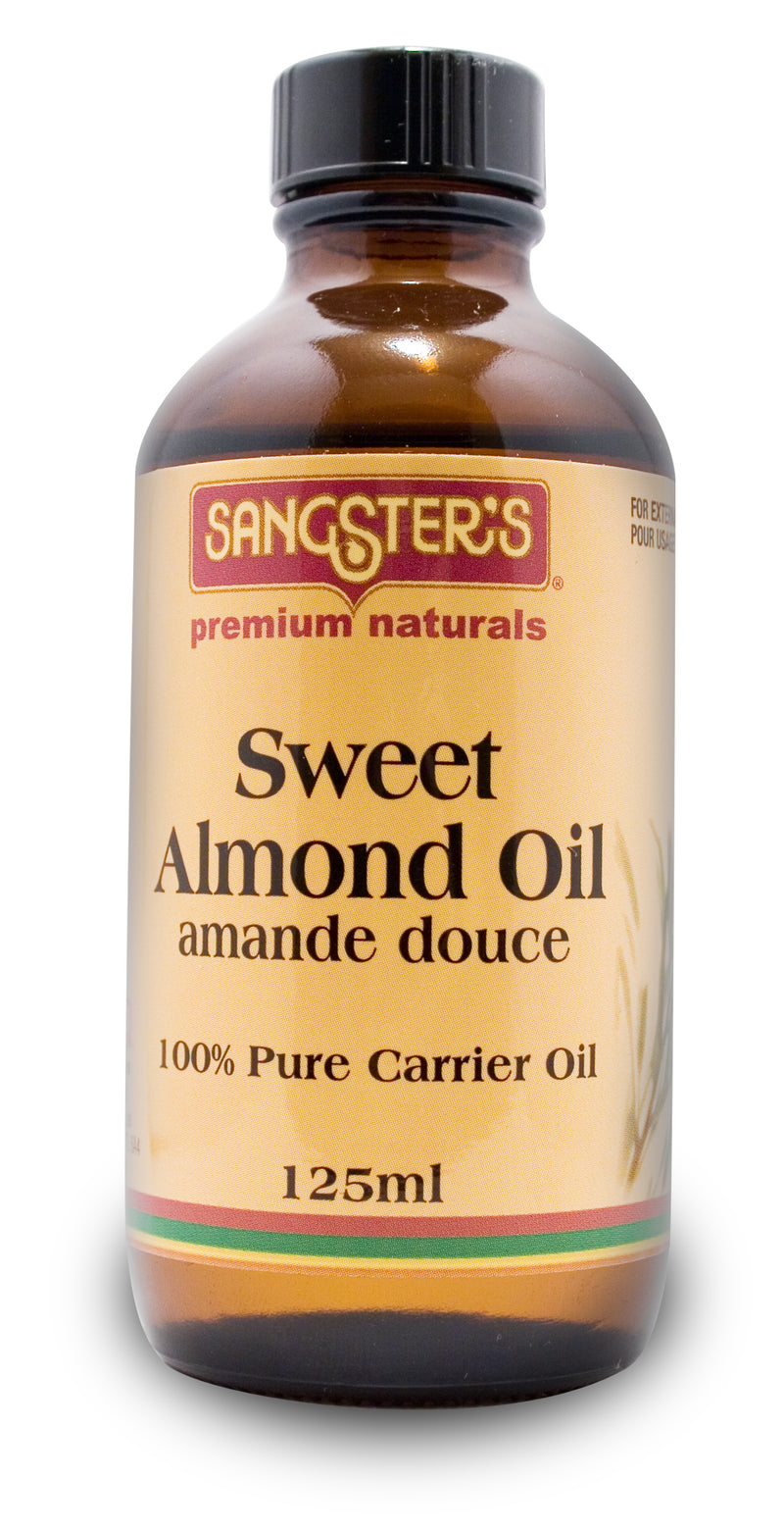 Sangster's Sweet Almond Carrier Oil 125ml