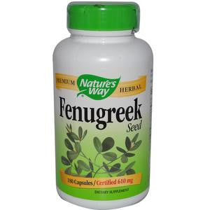 Nature's Way Fenugreek Seed 480mg