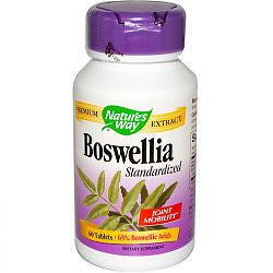 Nature's Way Boswellia Extract - 60 Tablets