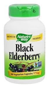 Nature's Way Elderberry - 100 Veg Caps