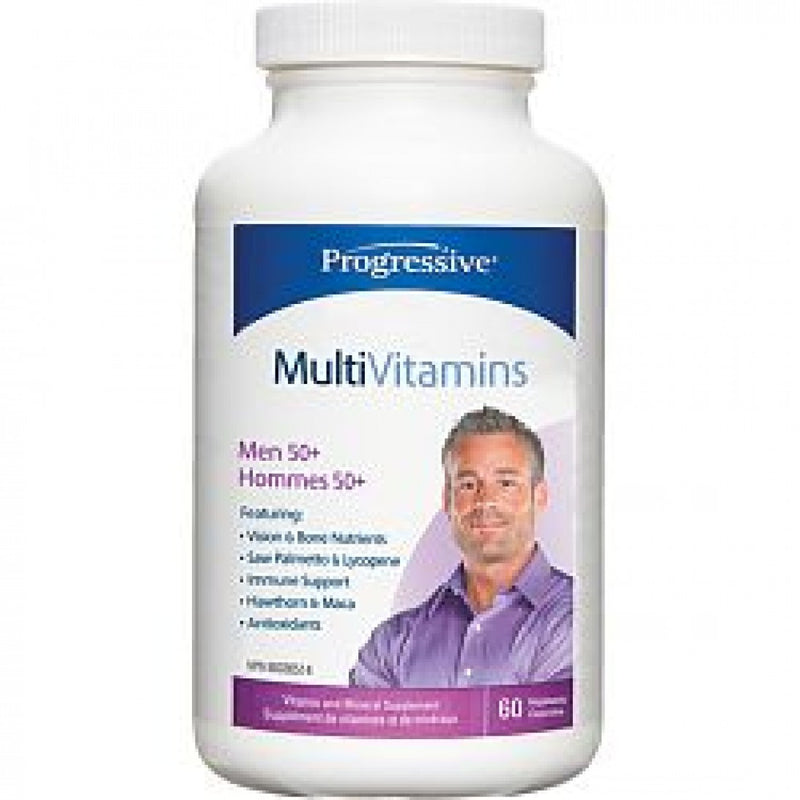 Progressive Men's 50+ MultiVitamins