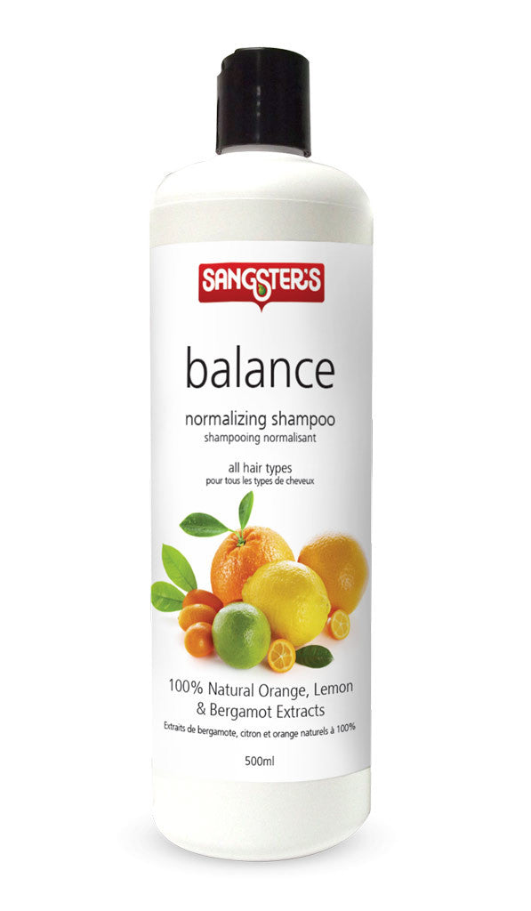 Sangster's Natural Shampoo - Balance Normalizing Citrus 500ml