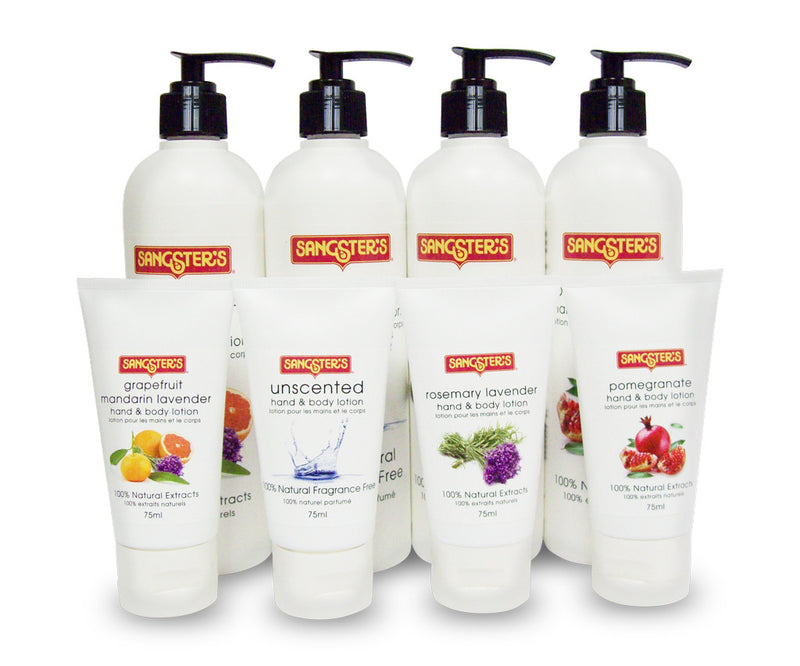Sangster's Natural Lotion - Pomegranate