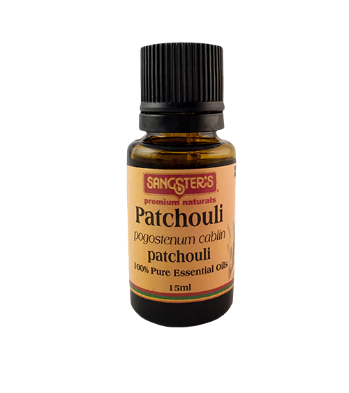 Sangster's Patchouli 100% Pure Essential Oil 15ml