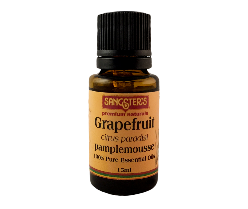 Sangster's Grapefruit 100% Pure Essential Oil 15ml