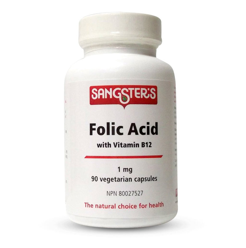 Sangster's Folic Acid 1mg VCaps