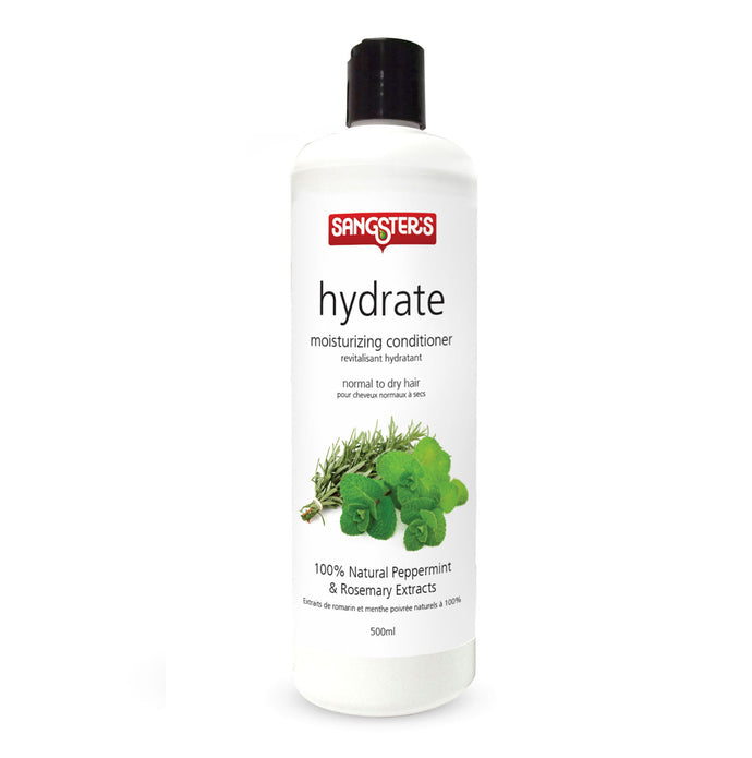 Natural Conditioner - Hydrate Peppermint & Rosemary 500ml