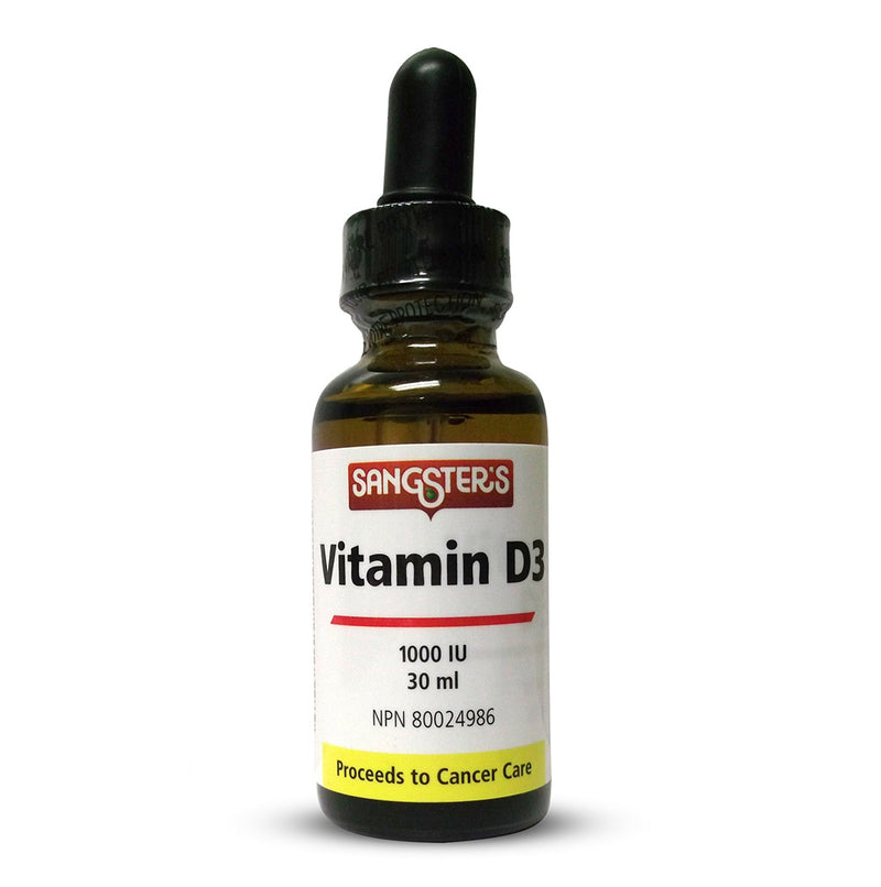Sangster's Vitamin D 1000IU 30ml Liquid