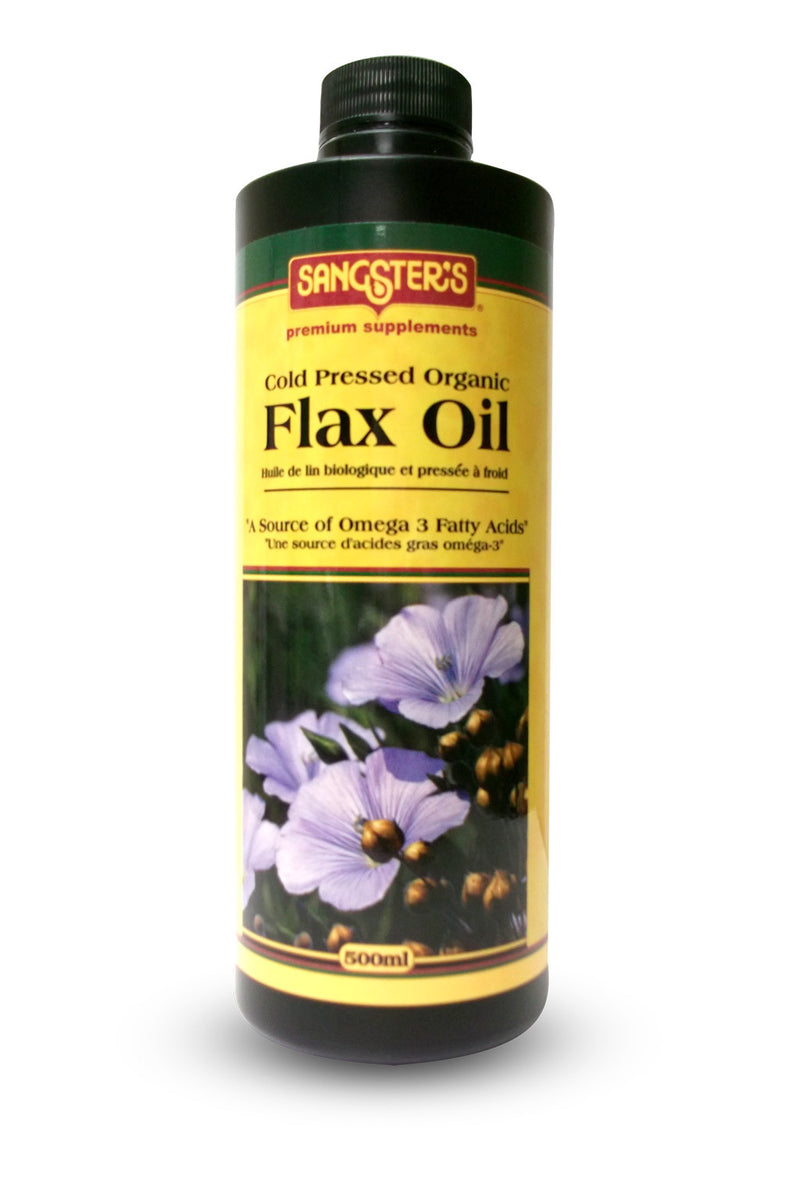 Sangster's Organic Liquid Flax Seed Oil - 500ml - EXPIRY JULY 2019