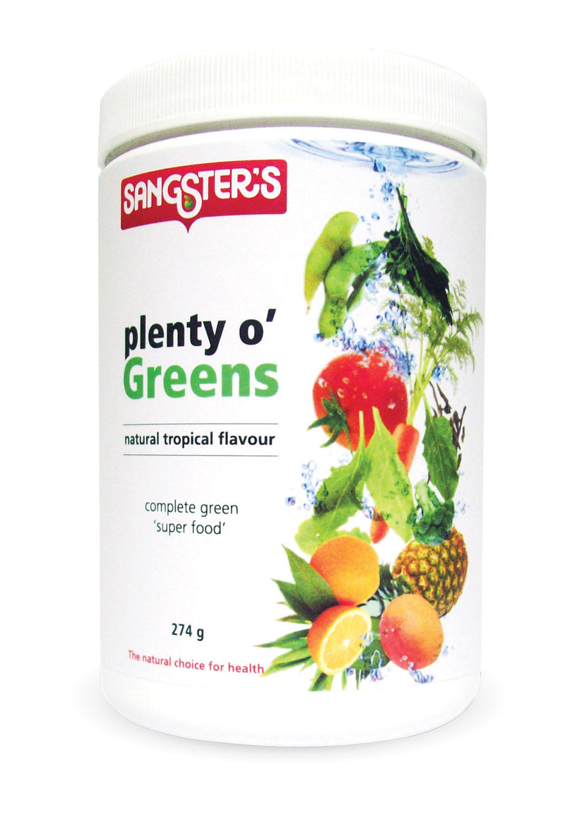 Sangster's Plento o' Greens - Tropical 274g