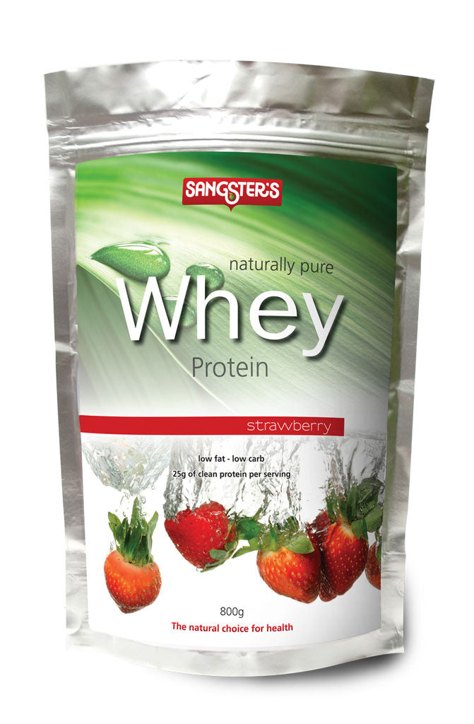 Sangster's Naturally Pure Whey Protein - Strawberry