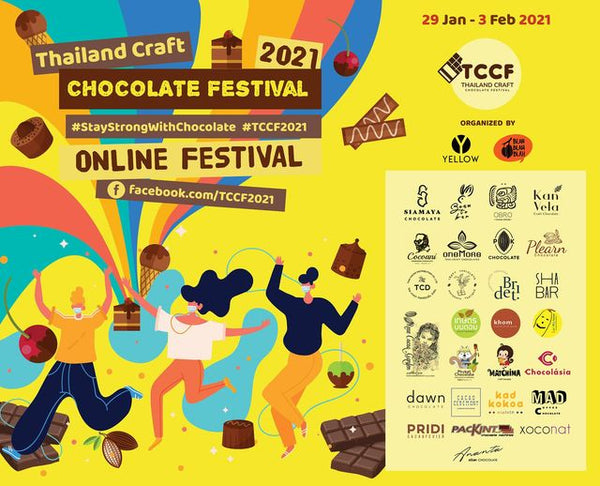 TCCF 2021 Thailand craft chocolate festival