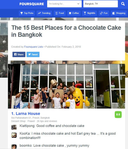best chocolate cake in Bangkok