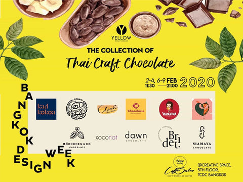 Thailand craft chocolate event by Yellow chocolate