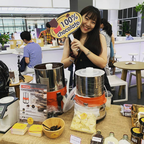 Thailand craft chocolate event by Yellow chocolate, chocolate market