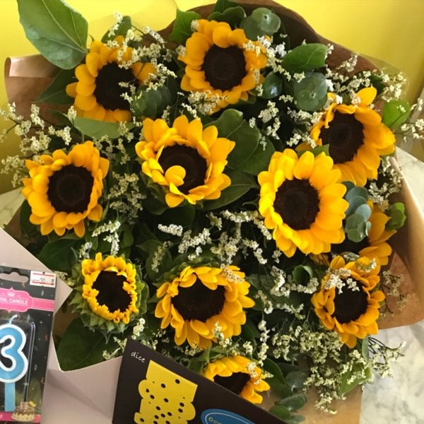 Sun flower bouquet #5