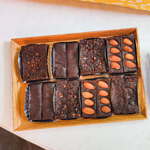 Spicy brownie set (Vegan& Gluten-free)