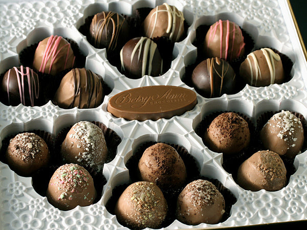 20oz - 18pc Paras Chocolate Truffle Assortment - 18 piece