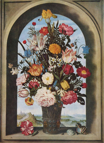 Dutch Masters; Paintings of Flower Bulbs