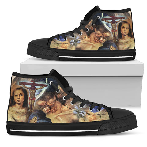Men's High Top - Art of Christ
