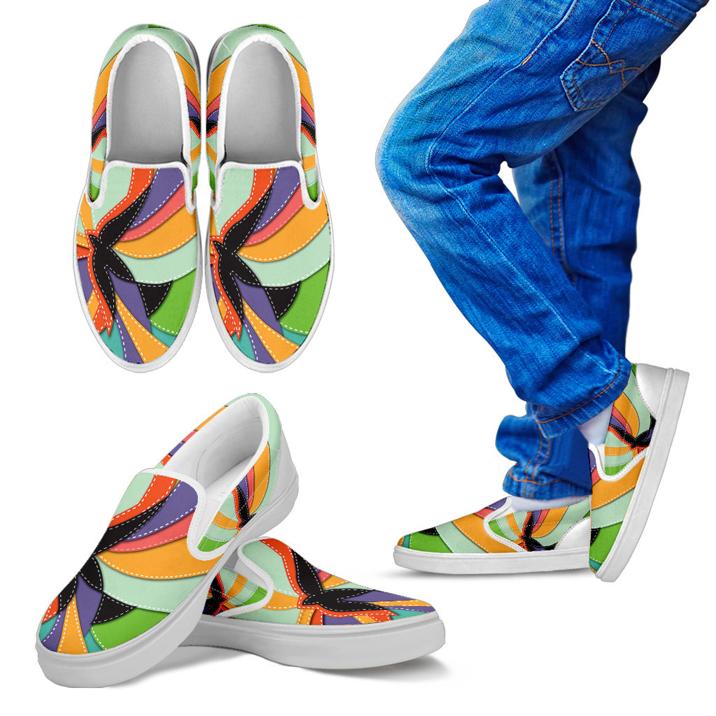 Spirit of Color - Kid's Slip Ons