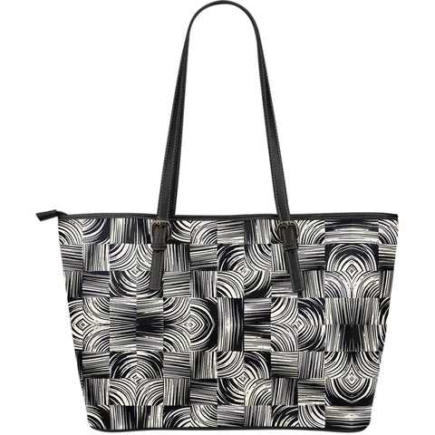 Entangled to You - Large Leather Tote Bag