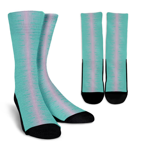 Speak to Me from Heaven - Women's Crew Socks