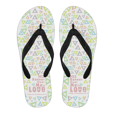 Song of Solomon - Men's Flip Flops