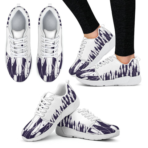 Fish Arise - Women's Athletic Sneakers