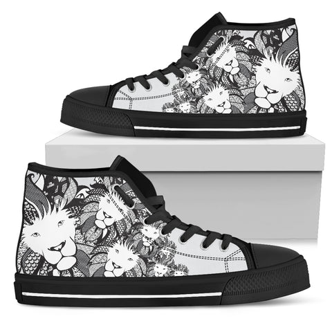 Women's High Top - Lion of Praise
