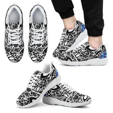 Fish Army - Men's Athletic Sneakers