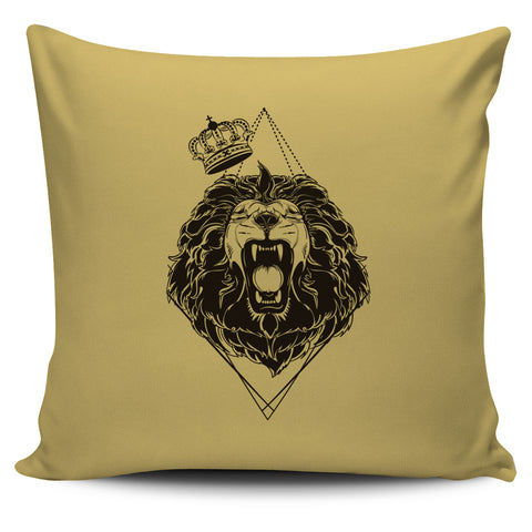 Hear the Lion Roars - Pillow Covers