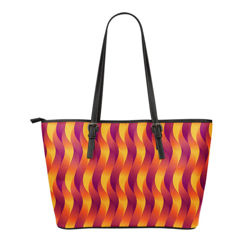 Pentecost - Small Leather Tote Bag